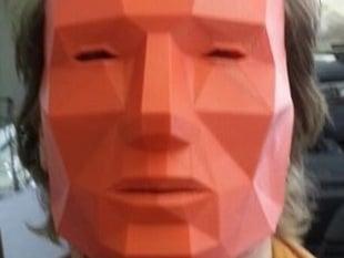 Printable Low Poly Mask
