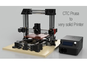CTC Prusa -> Very solid 3D-Printer