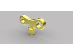 Funny Extruder keys (winds-up)