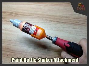 Paint Bottle Shaker Attachment
