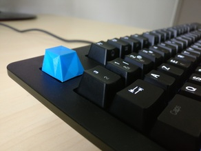 """Low-poly"" Cherry MX keycap"