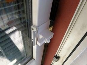 Balcony door lock