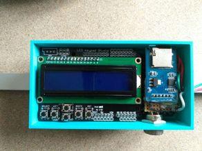 Arduino Mega + LCD Shield Case