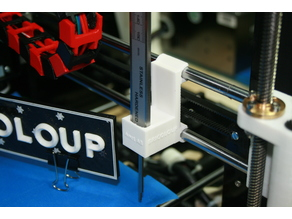 Support pied a coulisse Anet A8 Prusa I3