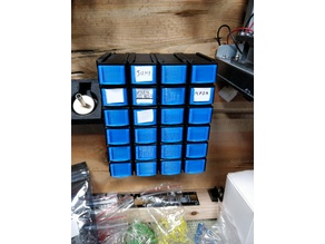 Wall Mount for Component Drawers.