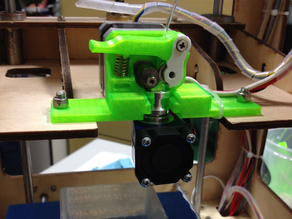 Thing-O-Matic, Come3d extruder with E3D v6 mount