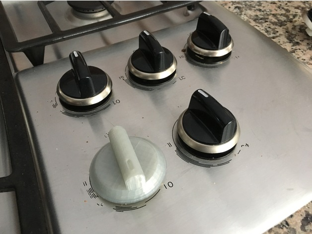 replacement knob for bosch stovetop by cmh. Black Bedroom Furniture Sets. Home Design Ideas