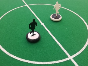Subbuteo team players