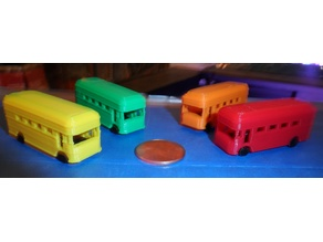 Remixed Bus Game Piece
