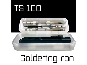 TS-100 Iron Box & Tip Holder (Compact Remix)