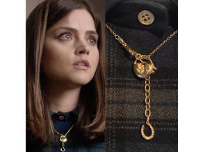 Clara Oswald Doormouse Necklace