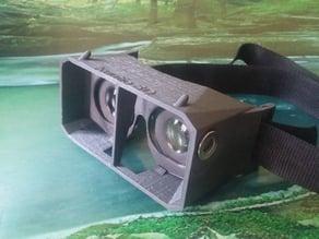 VR cardboard glasses +magnets