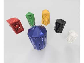 Crystal Caste Dice Set