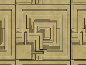 """Blade Runner"" Ennis House Tile"