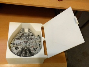 Millennium Falcon box for X-Wing Miniatures game