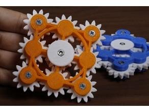 9 Gear Fidget Spinner