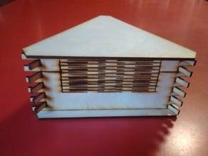 Living Hinge triangle box