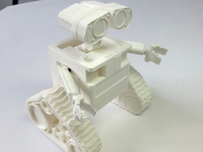 WALL-e  ( cut into parts )