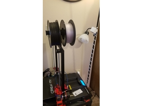 Dual Spool Holder for CR10s Pro