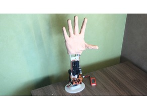 robot hand || bionic hand prosthesis prototype