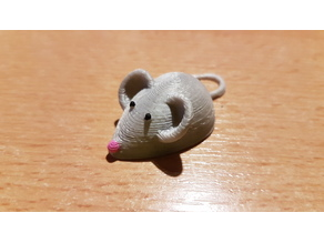 Mouse Fridge Magnet - smaller