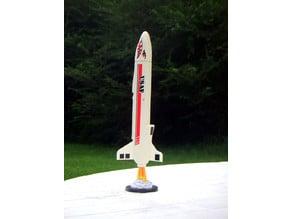 Model Rocket Display Bases