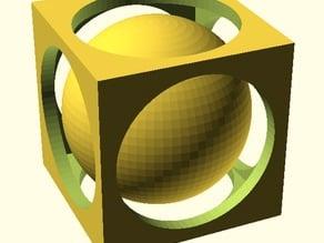 Customizable Captive Sphere