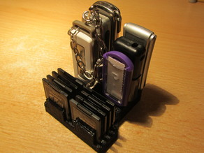 SD Card and USB Memory Stick Organiser