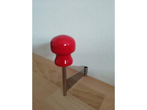 Cheese curler replacement knob