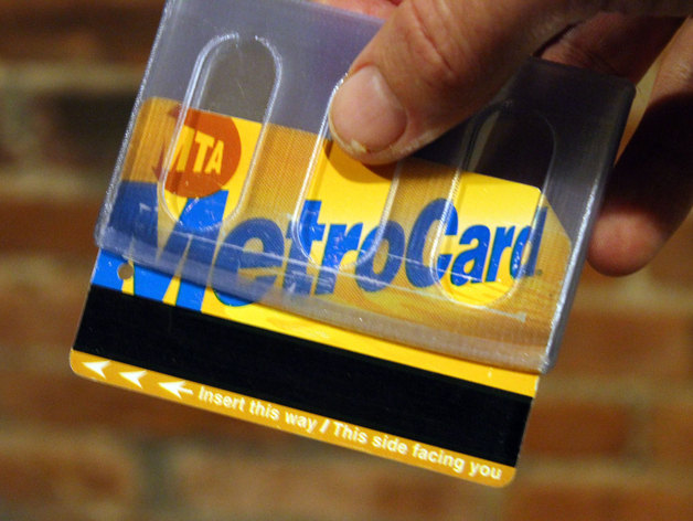 another slim wallet with metrocard slot by dadhoc thingiverse