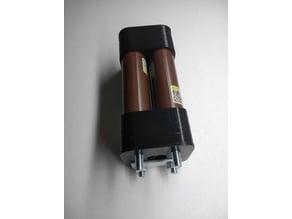 18650 2x2 Battery Holder