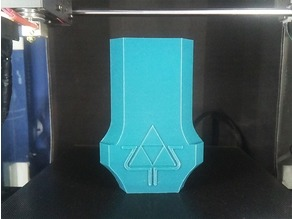 Master Sword (Full Size) Remix - Accurate BotW Triforce Emblem
