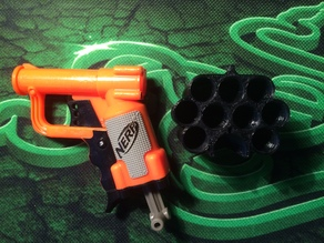 Nerf Jolt EX-1 Dart Holder - 10 Darts