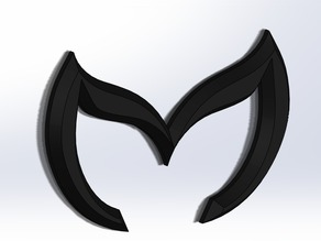 Mazda Batman Logo