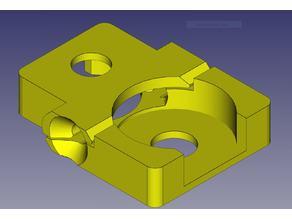 Bulldog Extruder Filament Guide