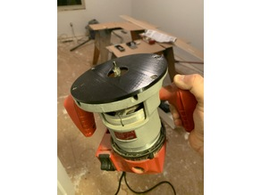 Base Plate for Six Inch Milwaukee Router