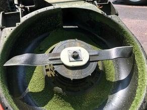 Electric lawn mower blade Insulator