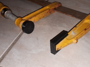 Paddings for F clamps, very easy to print