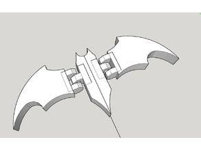 Articulated BATMAN symbol