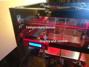 3D printer enclosure air temperature regulation system