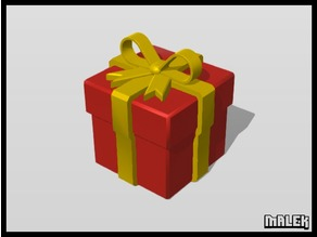 present box (with / without bow)