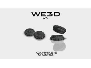 Cannabis Crusher - 420 WE3D UK