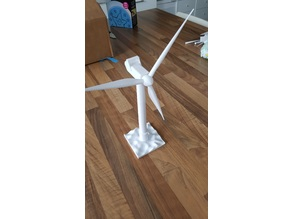 scale wind turbine