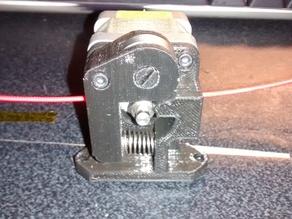 Simple Extruder Drive Block only 3 parts!!