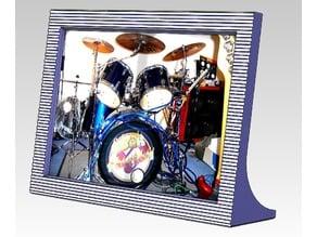 horizontal photo frame 15x10cm