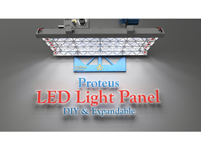 Proteus LED Light Panel - DIY and Expandable