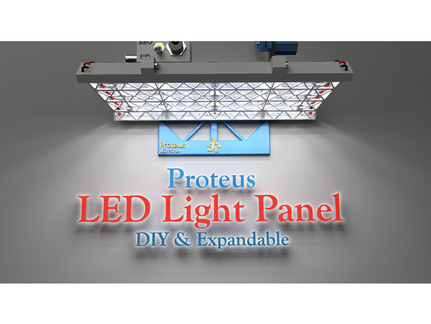 Proteus Led Light Panel Diy And Expandable By Proteanman