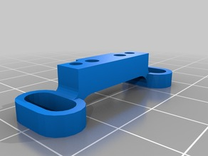 Front Upper Suspension Arm Holder for a Beetle RC car