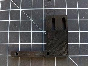 FLSUN Default Sensor Mount for 4mm Glass Bed Mod