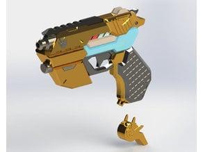 Officer D.va Light gun